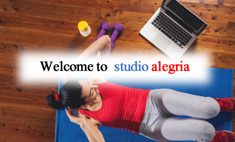welcome to studio alegria
